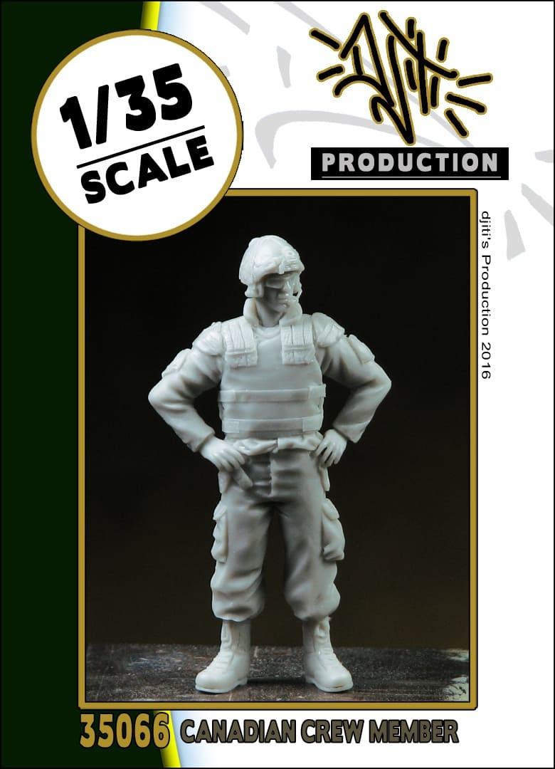 Djiti Production Canadian crew member - Scale 1/35 - Djiti - DJS35066
