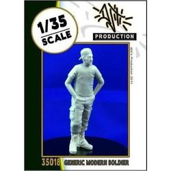 Generic modern soldier - Scale 1/35 - Djiti - DJS35018