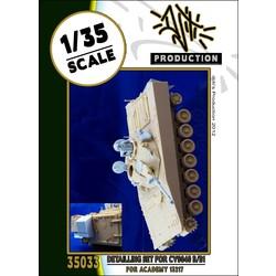 Detail set for cv9040 - Scale 1/35 - Djiti - DJS35033