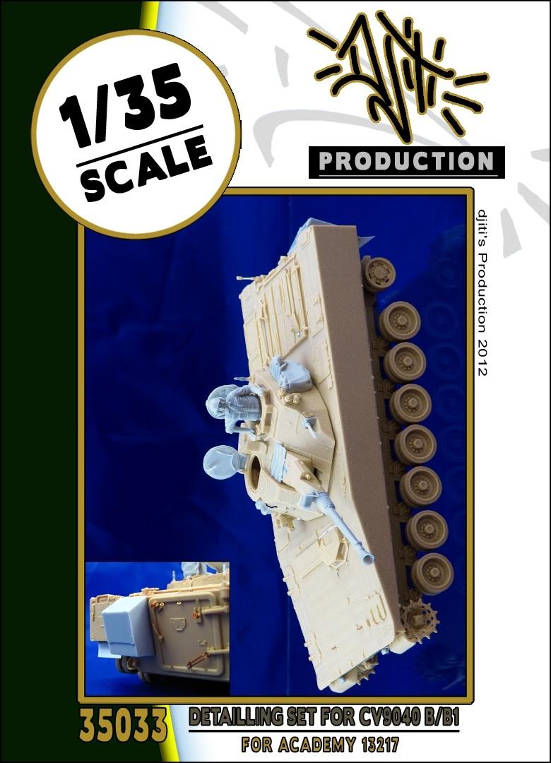 Djiti Production Detail set for cv9040 - Scale 1/35 - Djiti - DJS35033