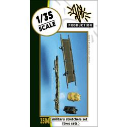 Military stretchers set - Scale 1/35 - Djiti - DJS35042