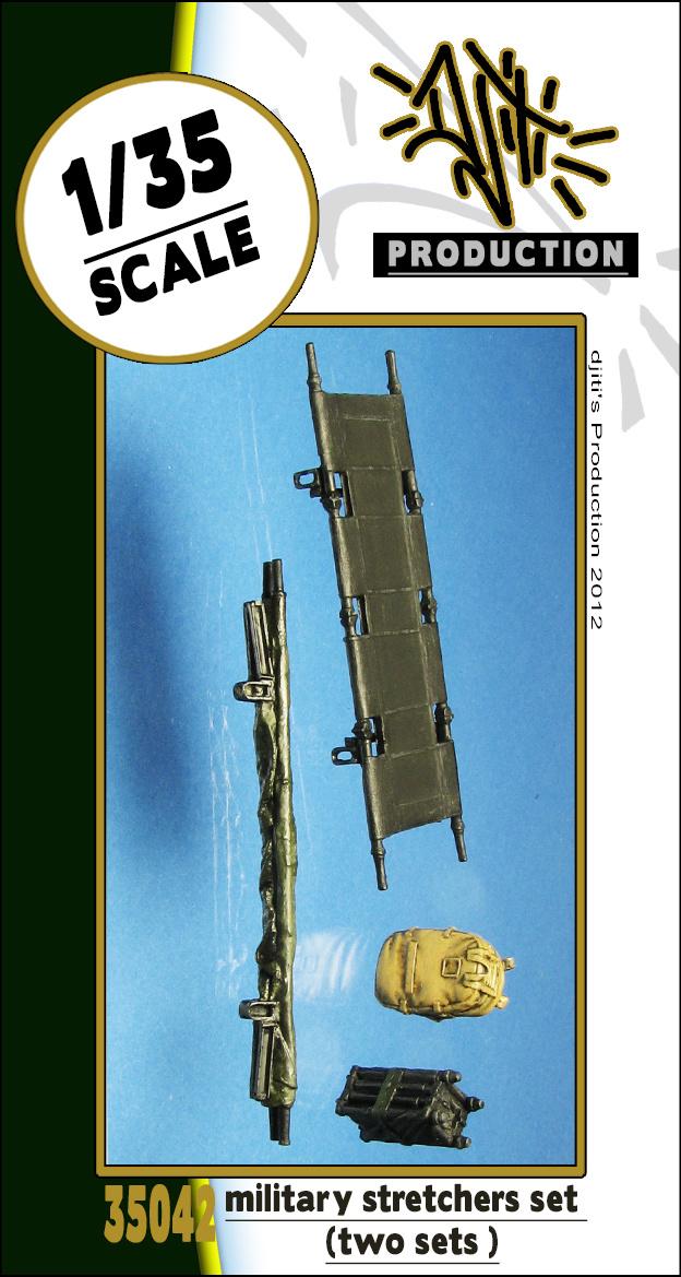 Djiti Production Military stretchers set - Scale 1/35 - Djiti - DJS35042