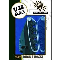 Wiesel 2 tracks - Scale 1/35 - Djiti - DJS35059
