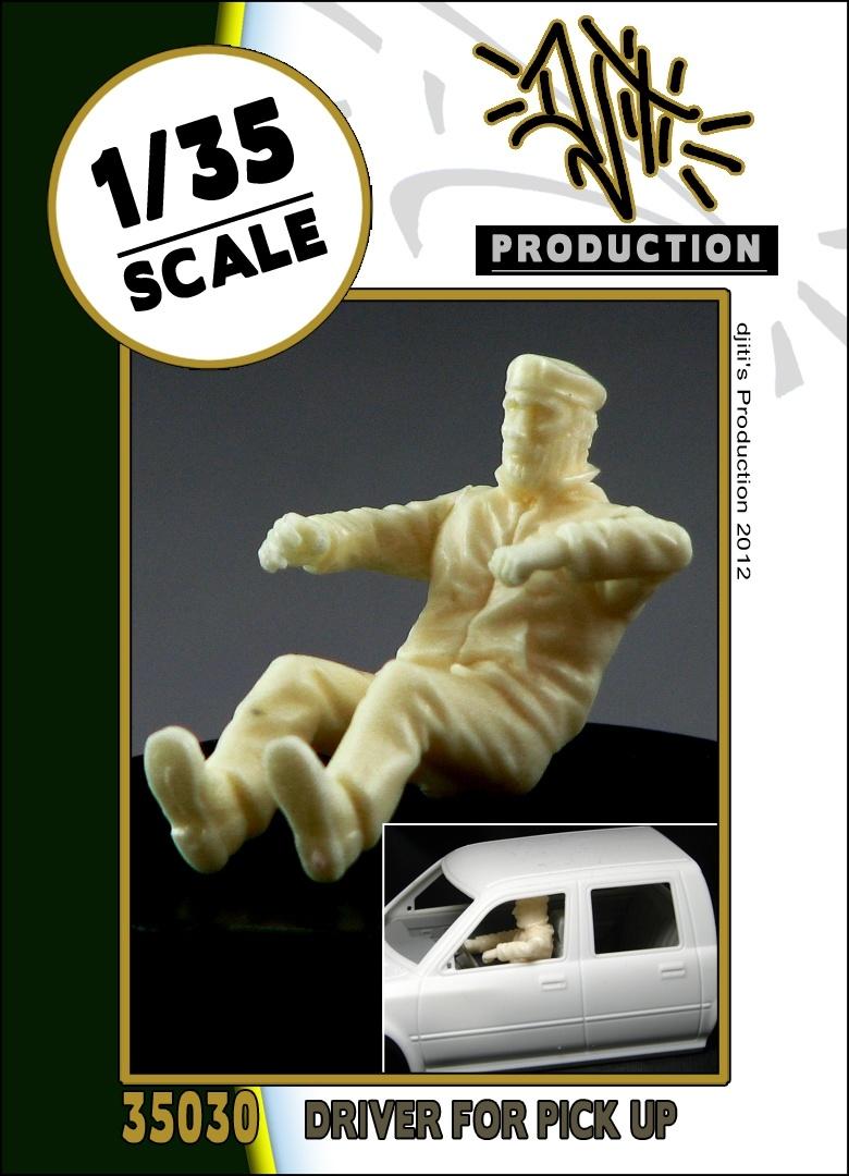 Djiti Production Driver for pick up 1 - Scale 1/35 - Djiti - DJS35030