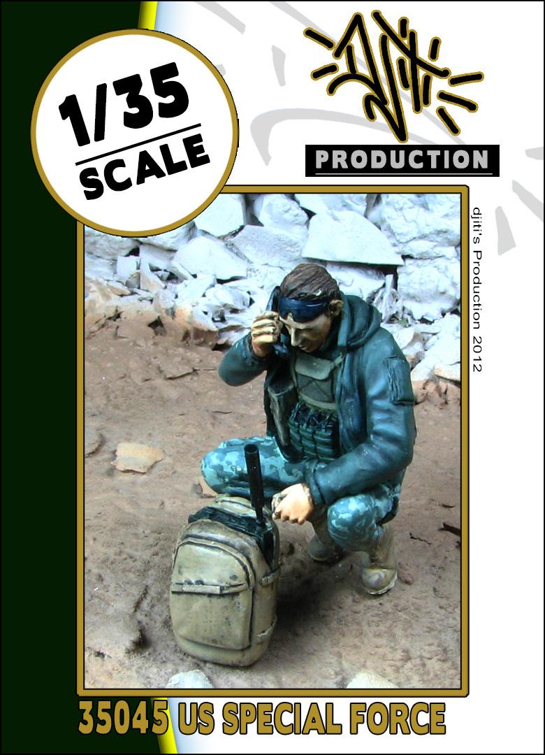 Djiti Production SOF operator radio - Scale 1/35 - Djiti - DJS35045