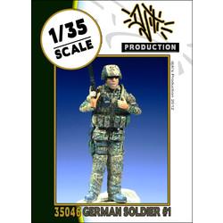 German soldier - Scale 1/35 - Djiti - DJS35046