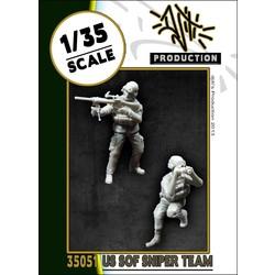 US SOF sniper team - Scale 1/35 - Djiti - DJS35051