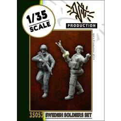 Swedish soldiers - Scale 1/35 - Djiti - DJS35052