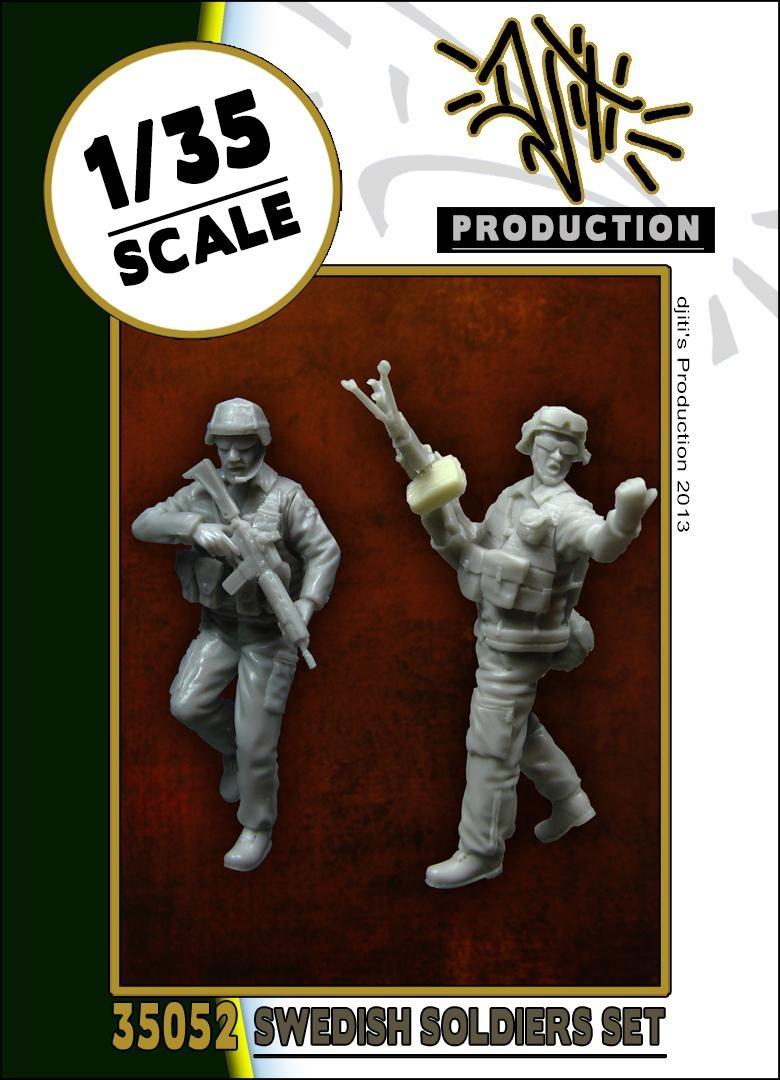 Djiti Production Swedish soldiers - Scale 1/35 - Djiti - DJS35052