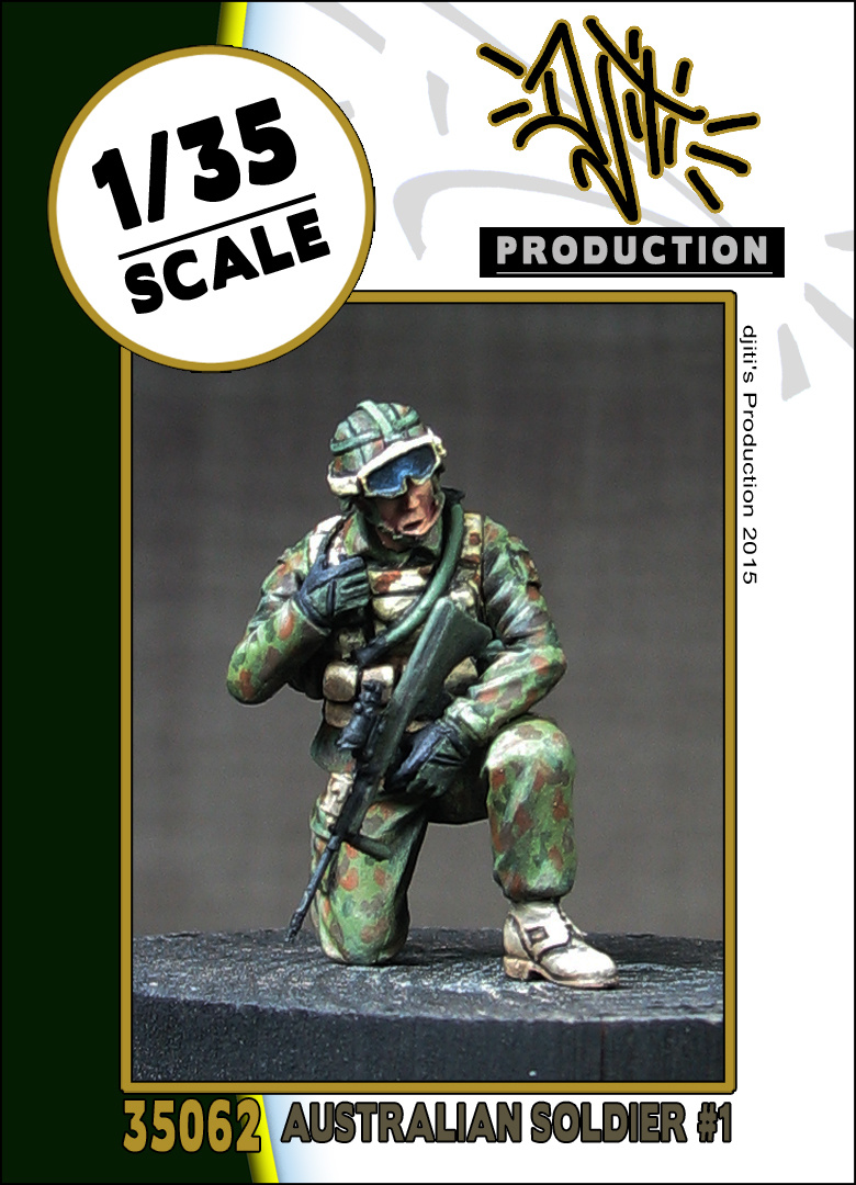 Djiti Production Australian soldier 1 - Scale 1/35 - Djiti - DJS35062
