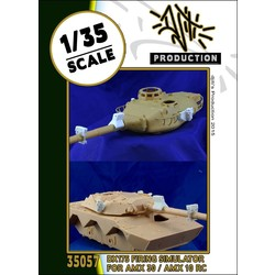 Firing simulator AMX - Scale 1/35 - Djiti - DJS35057