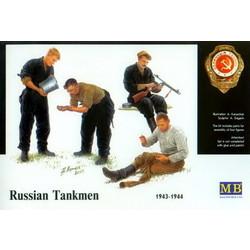 *Russian tankmen, 1943-1944* - Scale 1/35 - Masterbox - MBLTD3535