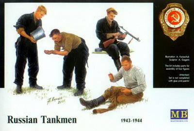 Masterbox *Russian tankmen, 1943-1944* - Scale 1/35 - Masterbox - MBLTD3535