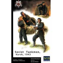 *Russian Tank Crew, Kursk, 1943* - Scale 1/35 - Masterbox - MBLTD3532