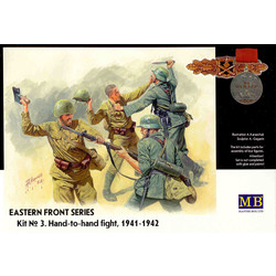 *Eastern Front Series. Kit № 3. Hand-to-hand fight, 1941-1942* - Scale 1/35 - Masterbox - MBLTD3524