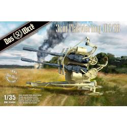 3cm Flakvierling 103/38 - Scale 1/35 - Das Werk - DW35004