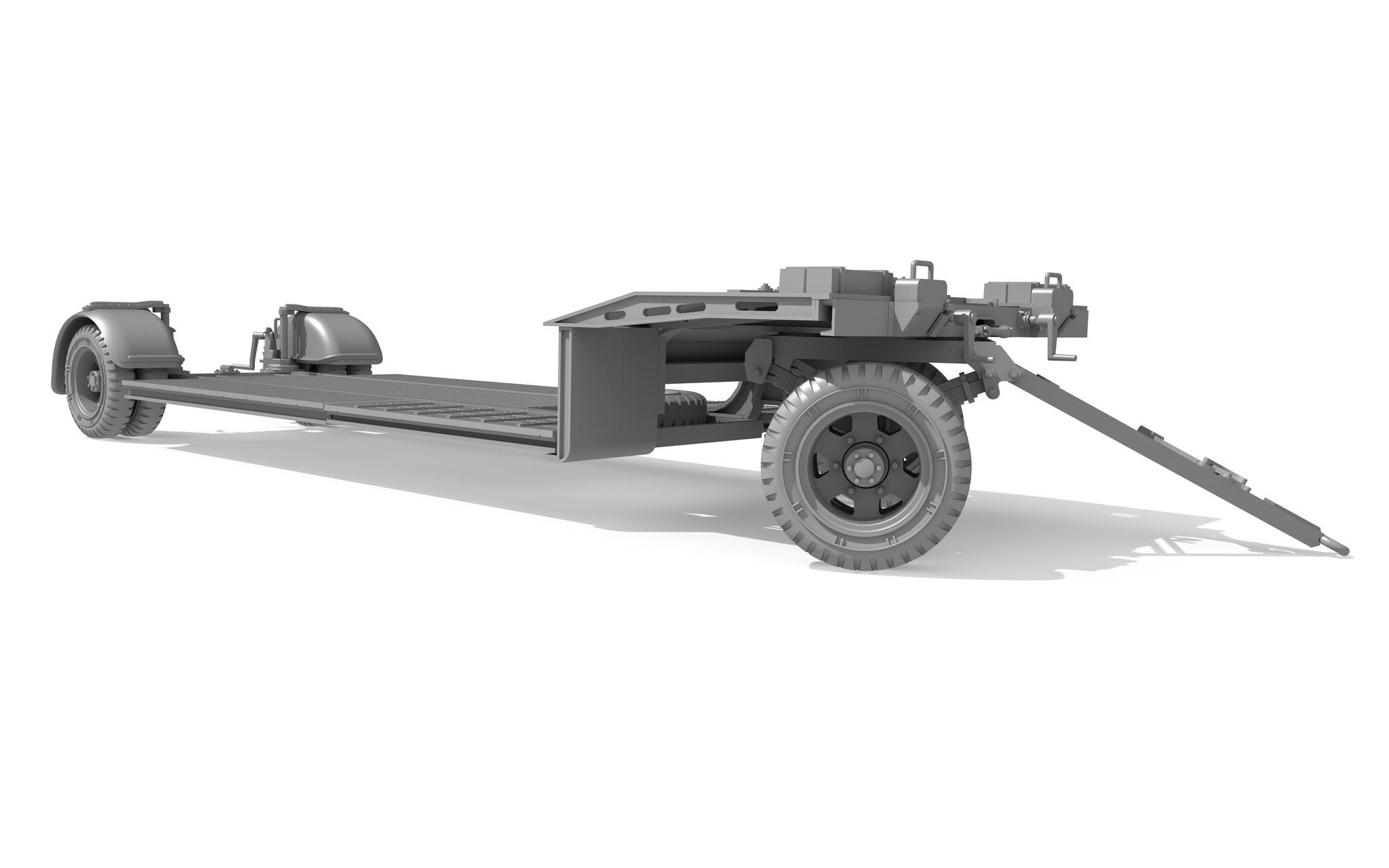 Das Werk Sonderanhänger 115 - 10t Tank Trailer Sd.Ah.115 - Scale 1/35 - Das Werk - DW35002