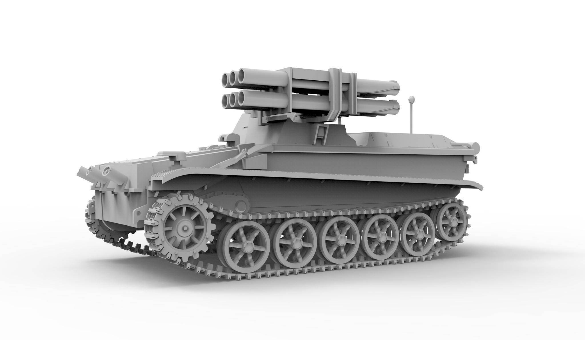"""Das Werk Borgward IV Panzerjäger """"Wanze"""" - Scale 1/35 - Das Werk - DW35008"""