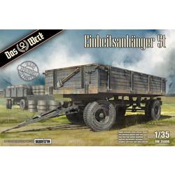 Einheitsanhänger 5t - Scale 1/35 - Das Werk - DW35006
