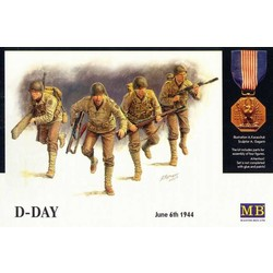 *D-Day, 6th June 1944* - Scale 1/35 - Masterbox - MBLTD3520
