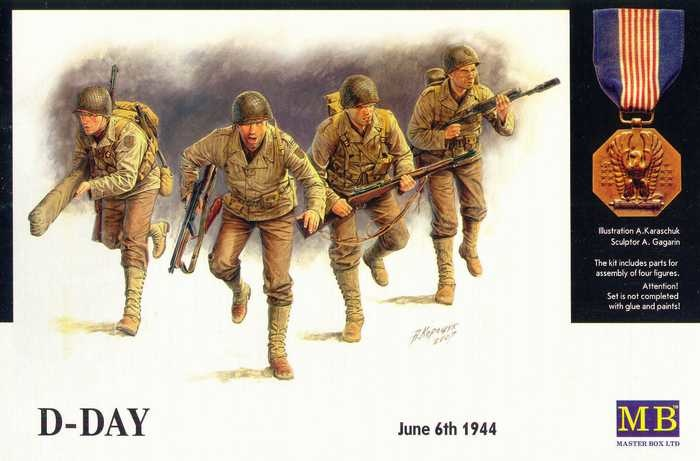 Masterbox *D-Day, 6th June 1944* - Scale 1/35 - Masterbox - MBLTD3520