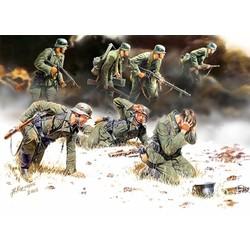 *German Panzergrenadiers, 1939-1942, 7 figures* - Scale 1/35 - Masterbox - MBLTD3518