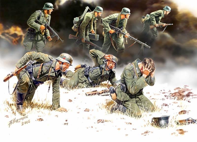 Masterbox *German Panzergrenadiers, 1939-1942, 7 figures* - Scale 1/35 - Masterbox - MBLTD3518