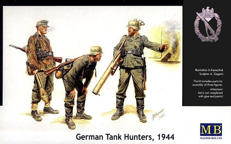 Masterbox *German Tank Hunters, 1944* - Scale 1/35 - Masterbox - MBLTD3515