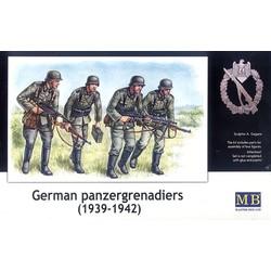 *German panzergrenadiers, 1939-1942* - Scale 1/35 - Masterbox - MBLTD3513