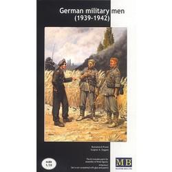 *German military men (1939-1942)* - Scale 1/35 - Masterbox - MBLTD3510