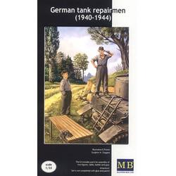 *German tank repairmen (1940-1944)* - Scale 1/35 - Masterbox - MBLTD3509