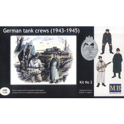 *German tank crew (1943-1945) Kit No2* - Scale 1/35 - Masterbox - MBLTD3508
