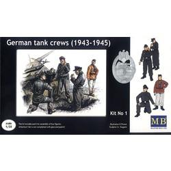 *German tank crew (1943-1945) Kit No1* - Scale 1/35 - Masterbox - MBLTD3507