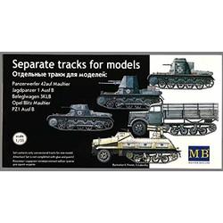 *Separate caterpillar tracks* - Scale 1/35 - Masterbox - MBLTD3505