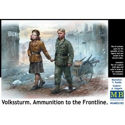 *Volkssturm. Ammunition to the Frontline* - Scale 1/35 - Masterbox - MBLTD35182