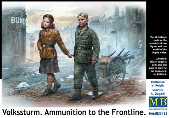 Masterbox *Volkssturm. Ammunition to the Frontline* - Scale 1/35 - Masterbox - MBLTD35182