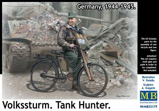 Masterbox *Volkssturm. Tank Hunter. Germany, 1944-1945* - Scale 1/35 - Masterbox - MBLTD35179