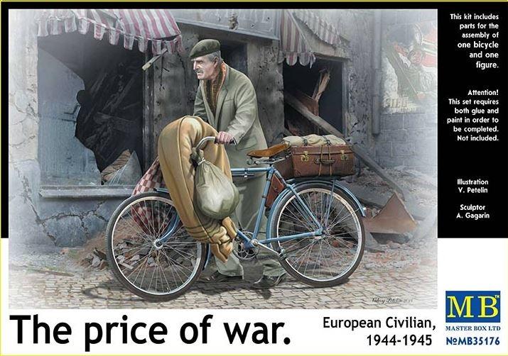 Masterbox *The price of war. European Civilian, 1944-1945* - Scale 1/35 - Masterbox - MBLTD35176