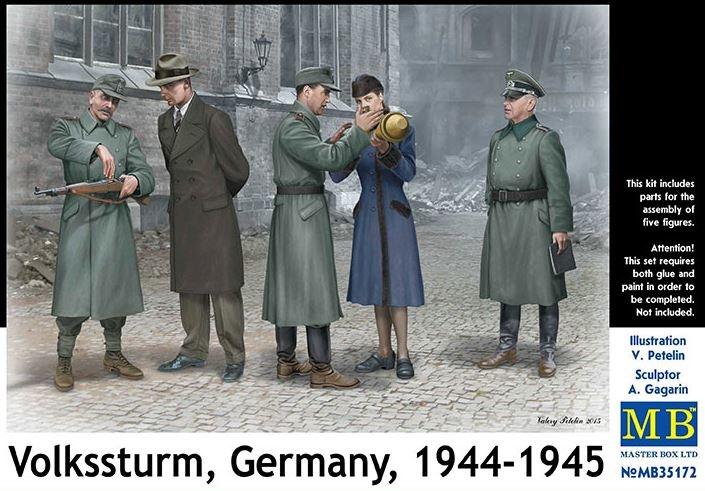 Masterbox *Volkssturm, Germany, 1944-1945* - Scale 1/35 - Masterbox - MBLTD35172