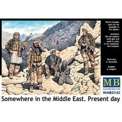 *Somewhere in the Middle East. Present day* - Scale 1/35 - Masterbox - MBLTD35163