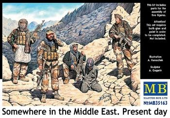 Masterbox *Somewhere in the Middle East. Present day* - Scale 1/35 - Masterbox - MBLTD35163
