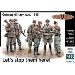 *Let's stop them here! German Military Men, 1945* - Scale 1/35 - Masterbox - MBLTD35162
