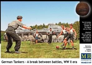 Masterbox *German Tankers - A break between battles, WW II era* - Scale 1/35 - Masterbox - MBLTD35149