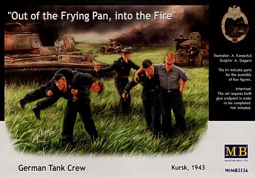 Masterbox *German Tank Crew, Kursk, 1943* - Scale 1/35 - Masterbox - MBLTD3536