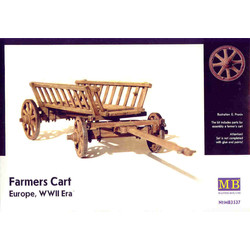 *Farmer's Cart, Europe, WWII Era* - Scale 1/35 - Masterbox - MBLTD3537