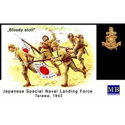 *Bloody Atoll series. Kit No 1*, Japanese Imperial Marines, Tarawa, November 1943* - Scale 1/35 - Masterbox - MBLTD3542