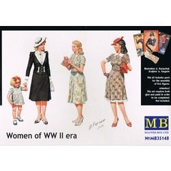 *Women of WWII era* - Scale 1/35 - Masterbox - MBLTD35148