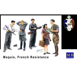 *Maquis, French Resistance* - Scale 1/35 - Masterbox - MBLTD3551