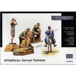 *Deutsches Afrika Korps, WWII Era* - Scale 1/35 - Masterbox - MBLTD3559