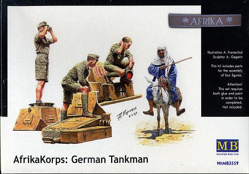 Masterbox *Deutsches Afrika Korps, WWII Era* - Scale 1/35 - Masterbox - MBLTD3559